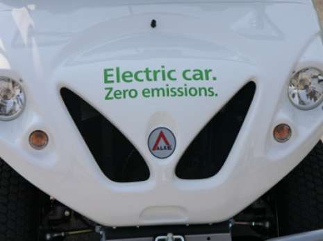 zero emission electric car alke