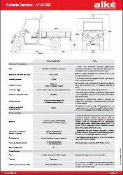 Caractéristiques Techniques Alkè ATX240E